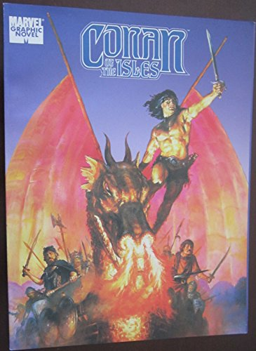 9780871354839: Conan of the Isles (Marvel Graphic Novel)
