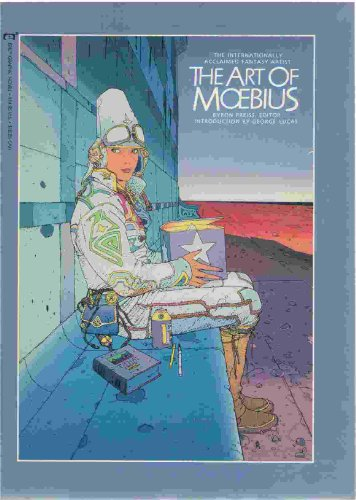 9780871356109: Art of Moebius