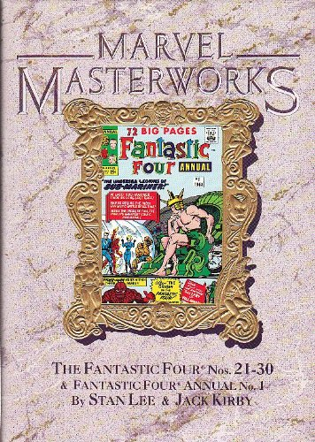 9780871356291: Marvel Masterworks: The Fantastic Four, Nos. 21-30
