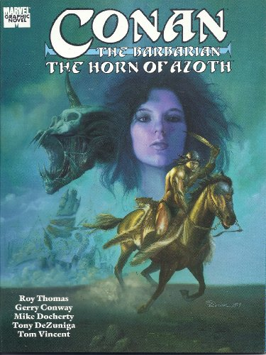 9780871356390: Conan the Barbarian: The Horn of Azoth (Marvel Comics)
