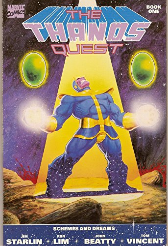 The Thanos Quest- Book One, Schemes and Dreams (Volume 1, Number 1): Jim Starlin