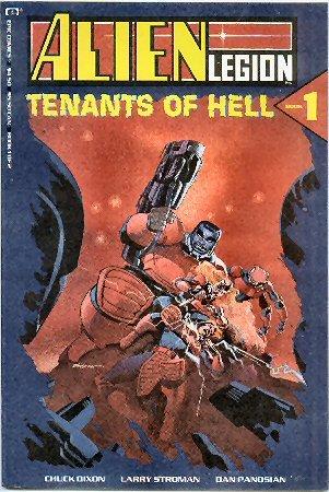 9780871357649: Alien Legion Tenants of Hell Book 1