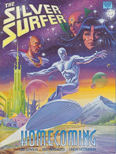 9780871358554: Silver Surfer: Homecoming Marvel Graphic Novel #71