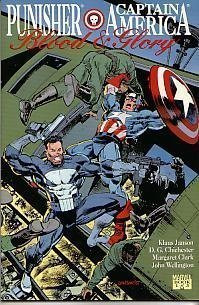 9780871358868: Punisher and Captain America: Blood and Glory: 001