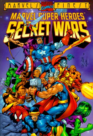 9780871359032: Marvel Super Heroes: Secret Wars