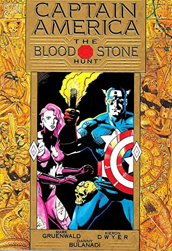 9780871359728: Captain America: The Bloodstone Hunt