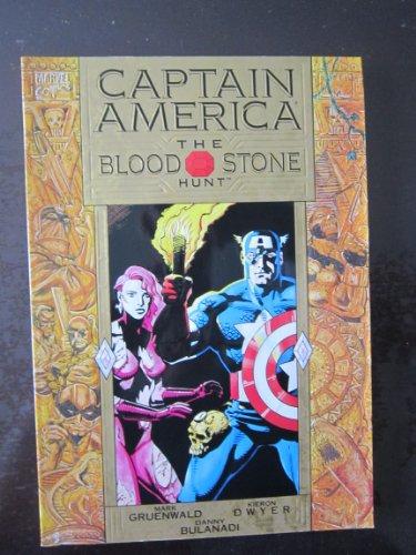 9780871359728: Captain America: The Bloodstone Hunt