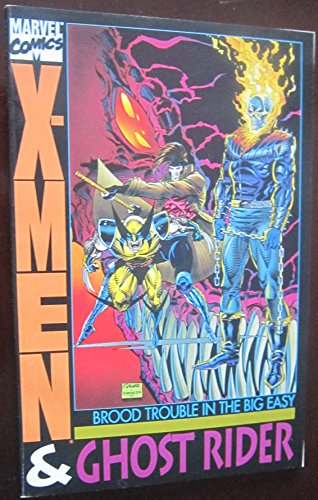 X-Men - Ghost Rider: Brood Trouble in the Big Easy: Jim Lee