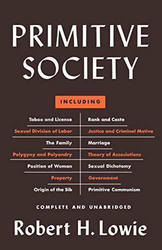 9780871400086: Primitive Society