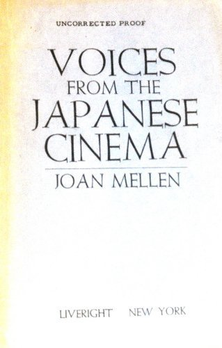 Voices from the Japanese cinema: Joan Mellen