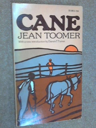 Cane: Toomer, Jean; With