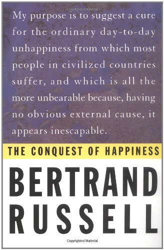 9780871401625: THE CONQUEST OF HAPPINESS B RUSSELL