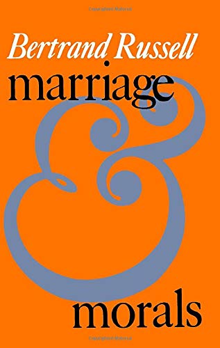 9780871402110: Marriage and Morals