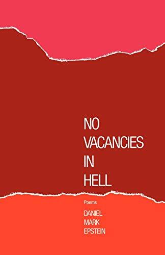 9780871402868: No Vacancies in Hell: Poems