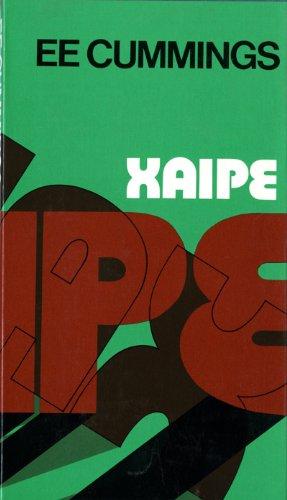 9780871406330: XAIPE (Cummings Typescript Editions)
