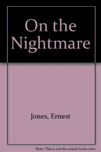 9780871409126: On the Nightmare