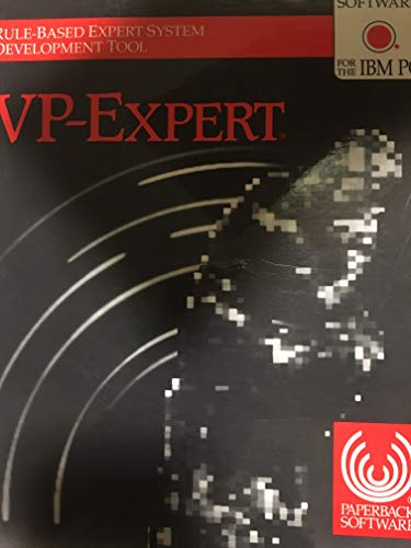 9780871420282: Vp-Expert: Rule-Based Expert System Development Tool With Software for the IBM PC
