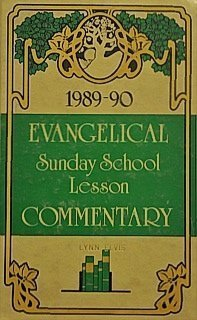 1989-90 Evangelical Sunday School Lesson Commentary-- 39th: Humbertson, James E.