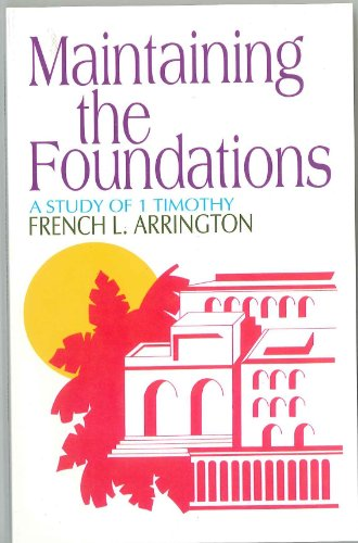 9780871486059: Maintaining the Foundations
