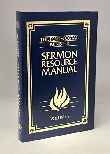 9780871489500: Sermon Resource Manual (Pentecostal Minister's Sermon Resource Manual)