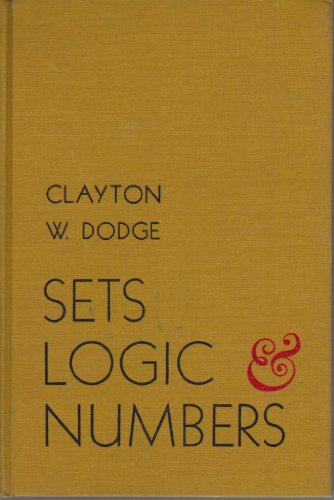 9780871500489: Sets, Logic and Numbers
