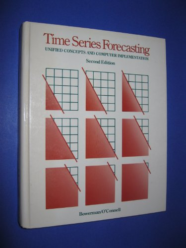 9780871500700: Time Series Forecasting: Unified Concepts and Computer Implementation