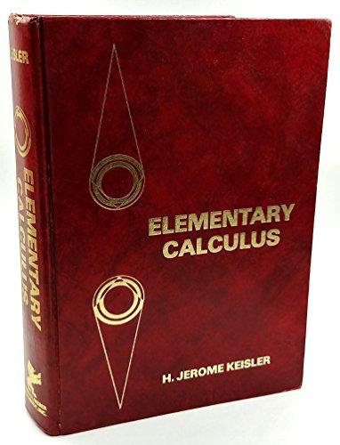 Elementary calculus: H. Jerome Keisler