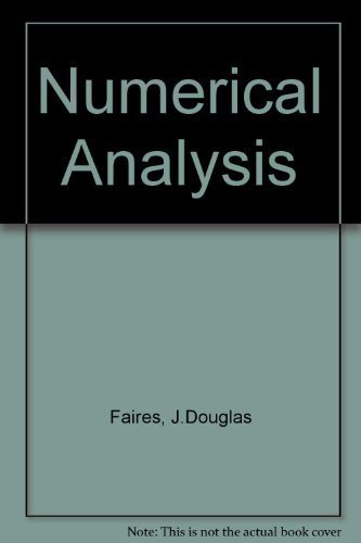 9780871502438: Numerical Analysis
