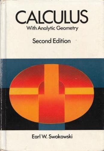 9780871502681: Calculus with Analytic Geometry