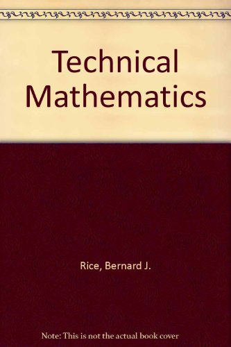 9780871503275: Technical mathematics