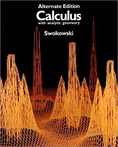 9780871503411: Calculus with Analytic Geometry