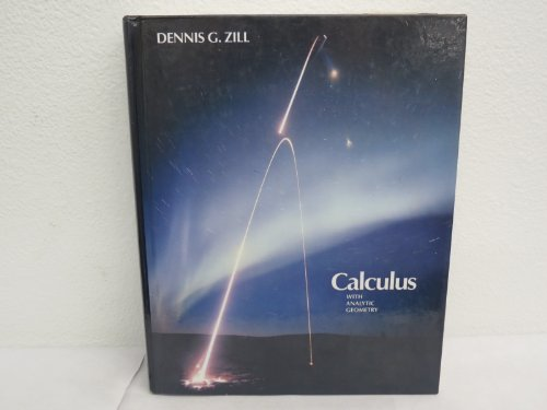 9780871504326: Calculus with Analytic Geometry