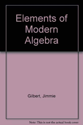 9780871504586: Elements of Modern Algebra