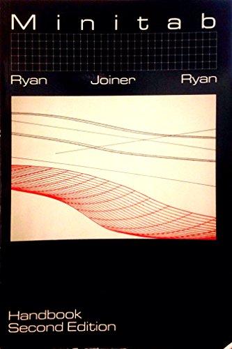 9780871504708: Minitab Handbook