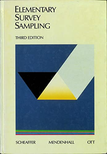9780871509437: Elementary survey sampling
