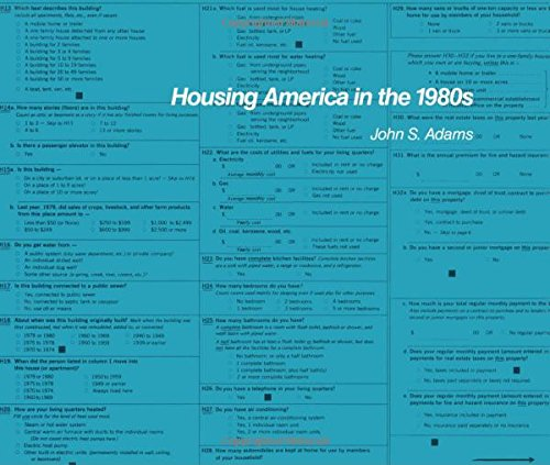 Housing America in the 1980s (Population of the United States in the 1980s : a Census Monograph ...