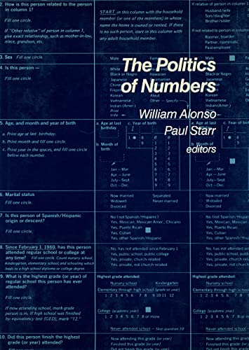 9780871540164: The Politics of Numbers (Russell Sage Foundation Census)
