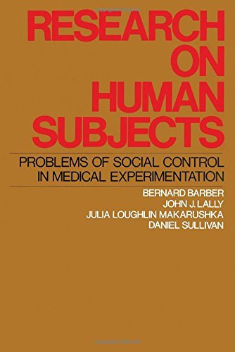 Research on Human Subjects : Problems of: John J. Lally;