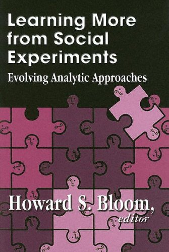 9780871541277: Learning More from Social Experiments: Evolving Analytic Approaches