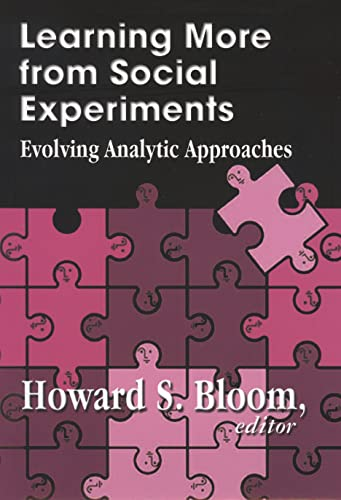 9780871541338: Learning More from Social Experiments: Evolving Analytic Approaches