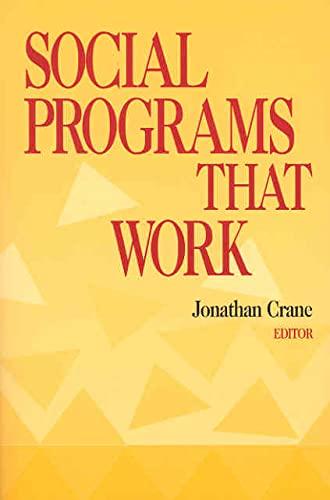 9780871541741: Social Programs that Work