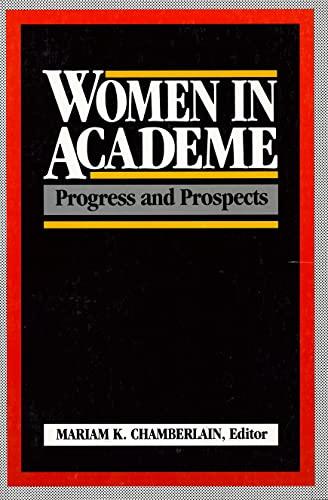 9780871542182: Women in Academe: Progress and Prospects