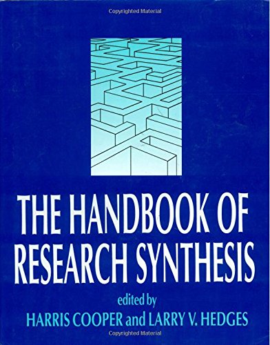 9780871542267: The Handbook of Research Synthesis