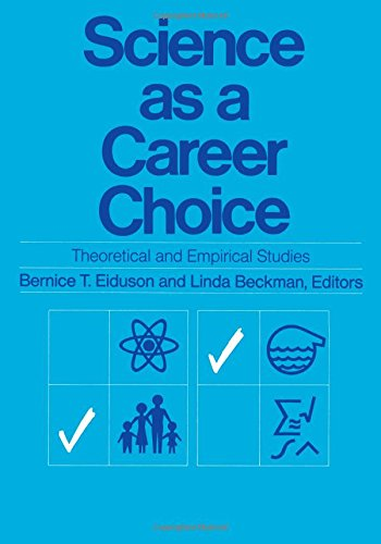 9780871542304: Science as a Career: Choice, Theoretical and Empirical Studies