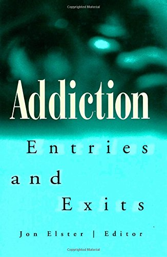 9780871542359: Addiction: Entries and Exits: Entries and Exits