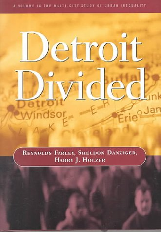 9780871542434: Detroit Divided (Multi City Study of Urban Inequality)
