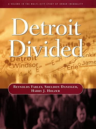 9780871542816: Detroit Divided