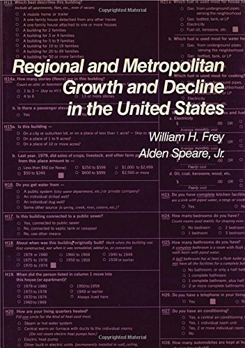 Regional and Metropolitan Growth and Decline in the United States