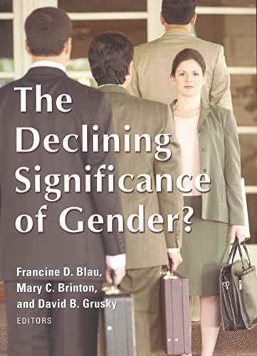 9780871543707: The Declining Significance of Gender?