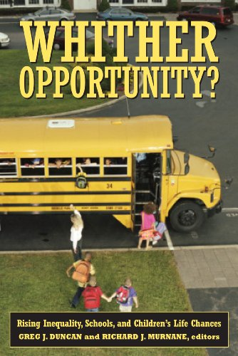 9780871543721: Whither Opportunity?: Rising Inequality, Schools, and Children's Life Chances (Copublished with the Spencer Foundation)
